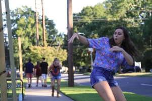 More than 250 students attended the annual BCM luau Aug. 29, which is intended to bring students together and promote the ministry (photo: Sarah Summerall).