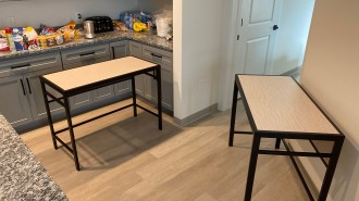 Residents at The Nest had to move the missing furniture into their apartments themselves after it was delivered nearly three weeks late (photo: Gabe Corbin).