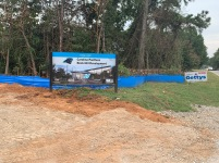 """Construction continues on the new 240-acre, $800 million Carolina Panthers facility in Rock Hill just off of I-77 and south of Cherry Road. The team says the site, which is informally being called """"The Rock,"""" should ready for football operation by the 2023 season (photo: Jacob Cullum)."""